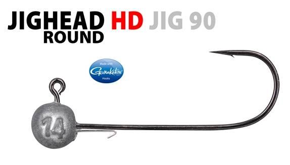 Spro Round Jighead Heavy Duty HD 90