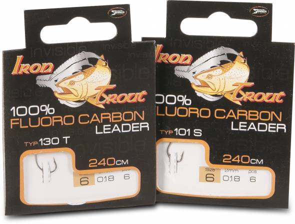 Iron Trout Fluoro Carbon Leader 101S