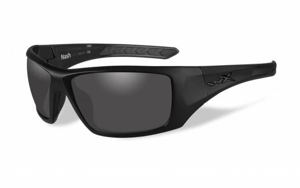 WileyX Nash Polarisationsbrille Smoke Grey Lens / Matte Black Frame