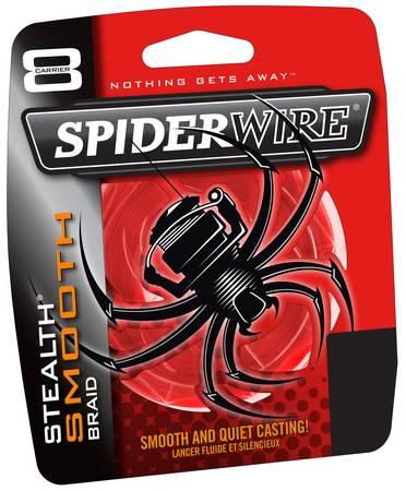 SpiderWire Stealth Smooth 8 Code Red Großspule Wunschlänge