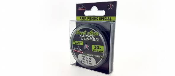 Molix Trout Area Fluorocarbon Shock Leader 30m