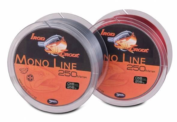 Iron Trout Mono Line 250m Rot