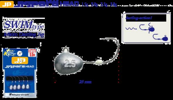 Major Craft JigPara Head Round