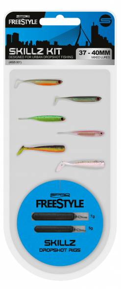Spro Freestyle Skillz Dropshot Kit 37-40mm