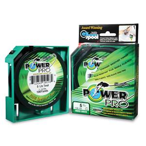 Power Pro 135m Moss Green