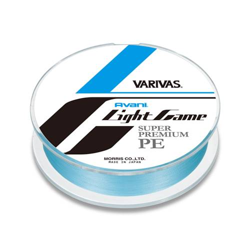 Varivas Avani Light Game Super Premium PE 0.2 100m 5lb