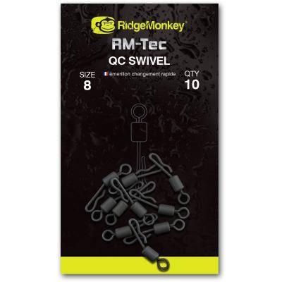 RidgeMonkey RM-Tec QC Swivel Size 8