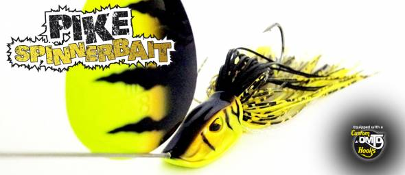 Molix Pike Spinnerbait 28g Willow Tandem