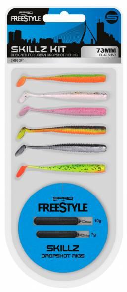 Spro Freestyle Skillz Dropshot Kit 73mm Slug