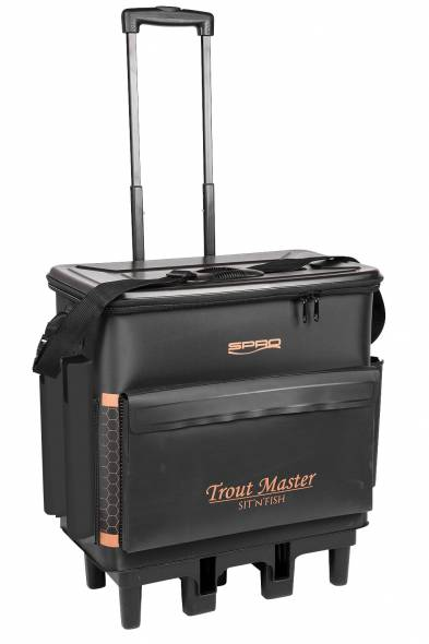 Spro Trout Master Sit n Fish Caddy Trolley
