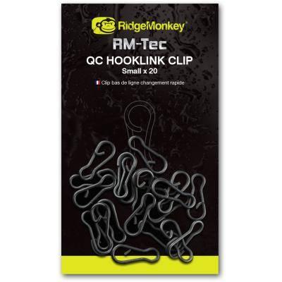 RidgeMonkey RM-Tec QC Hooklink Clip Small