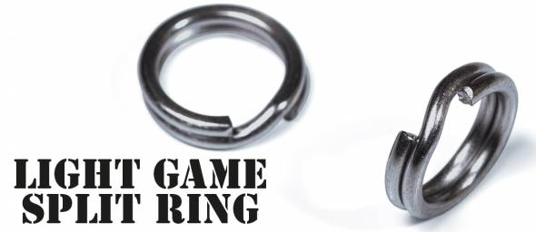 Molix Light Game Split Ring Black Nickel