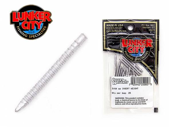 LUNKER CITY INSERT WEIGHTS