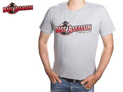 Bass Assassin T-Shirt Grau