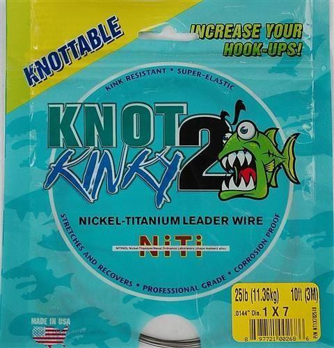 Knot 2 Kinky Titanium Leader Wire